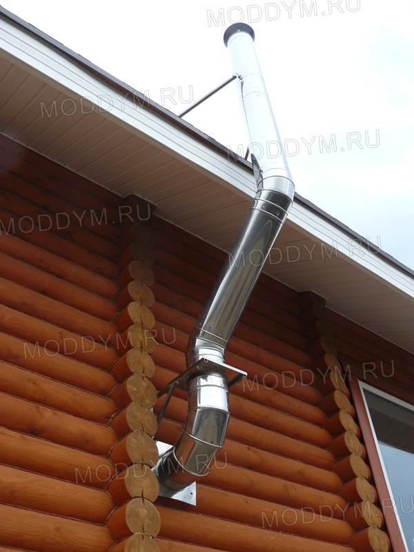 Дымоход для бани купить в нижнем новгороде размеры колена коаксиального дымохода